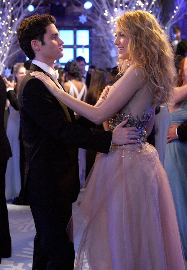 Gossip Girl Couples, Penn Badgley, Blake Lively